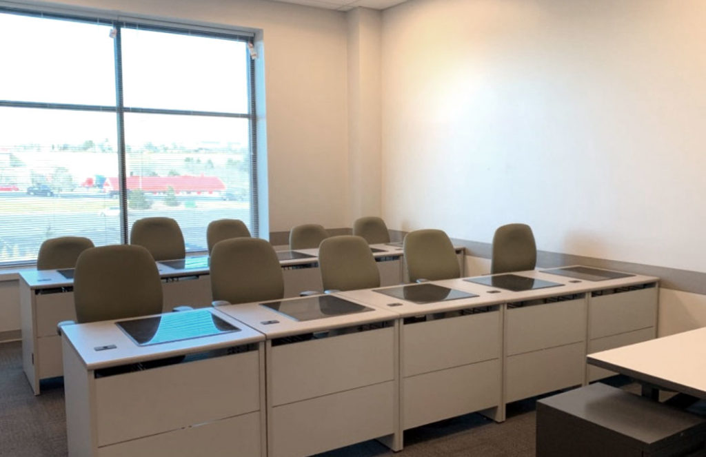 our training facilities